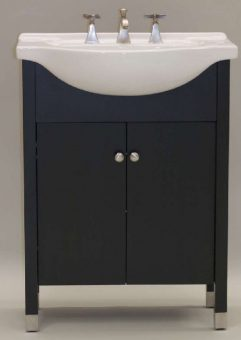 Superior 22 Inch Single Sink Modern Bathroom Vanity With Choice Of Finish And Sink