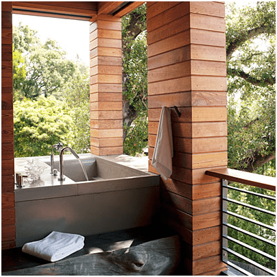 Using nature to create the perfect bathroom oasis