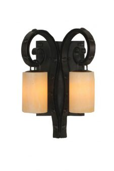 2 Light Antibes Wall Sconce