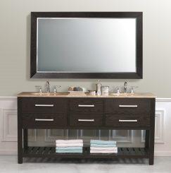 Bathroom Vanity Open Shelves the open shelving bathroom vanity: a trend watch