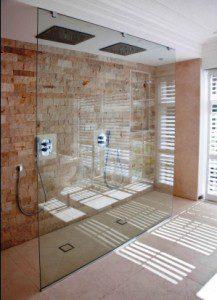 Open Shower Rooms