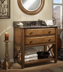 The Rustic Bathroom A Style Guide