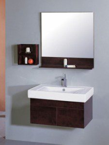 Wall Mounted Sinks Work Great in Small Bathrooms | All Things Bathroom
