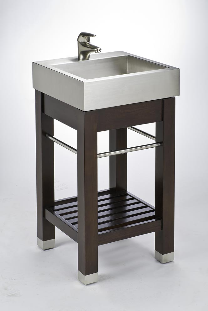 Pedestal sink storage solutions - Bathroom vanity under sink organizer ...