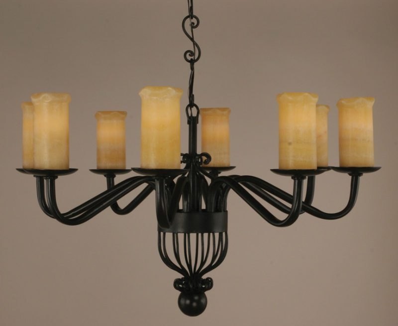 How To Install Large Wrought Iron Chandelier Light