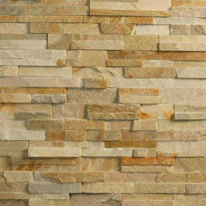 How To Install Stacked Stone Tile In Your Bathroom