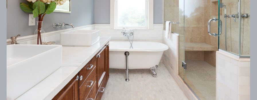 Transitional Bathroom