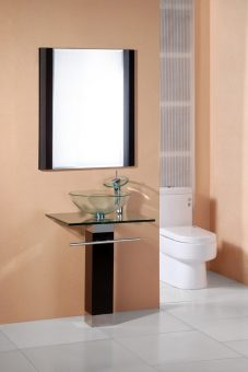 23 inch modern single vanity