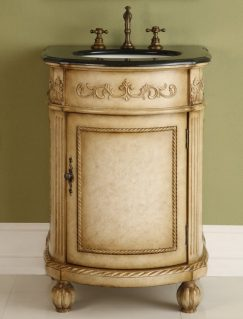 Antique White Bath Vanities And The