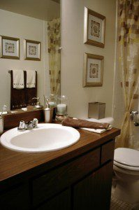 Planning vertical storage space in bathroom remodels - Unique bathroom vanities for small spaces ...