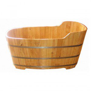 oak tub