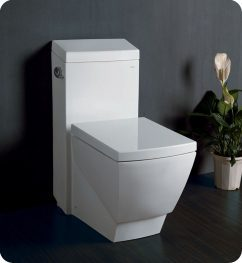 Apus One Piece Square Toilet with Soft Close Seat