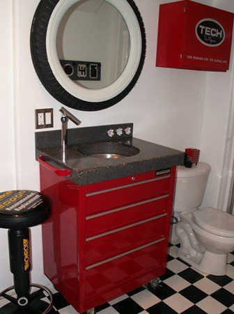 Turn Your Bathroom Into The Ultimate Man Cave