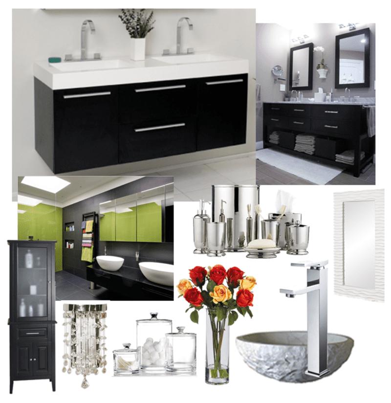Black Bathroom Vanities