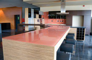 Tempered Glass countertop