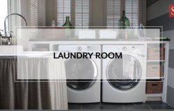 Pretty & Practical Laundry Room