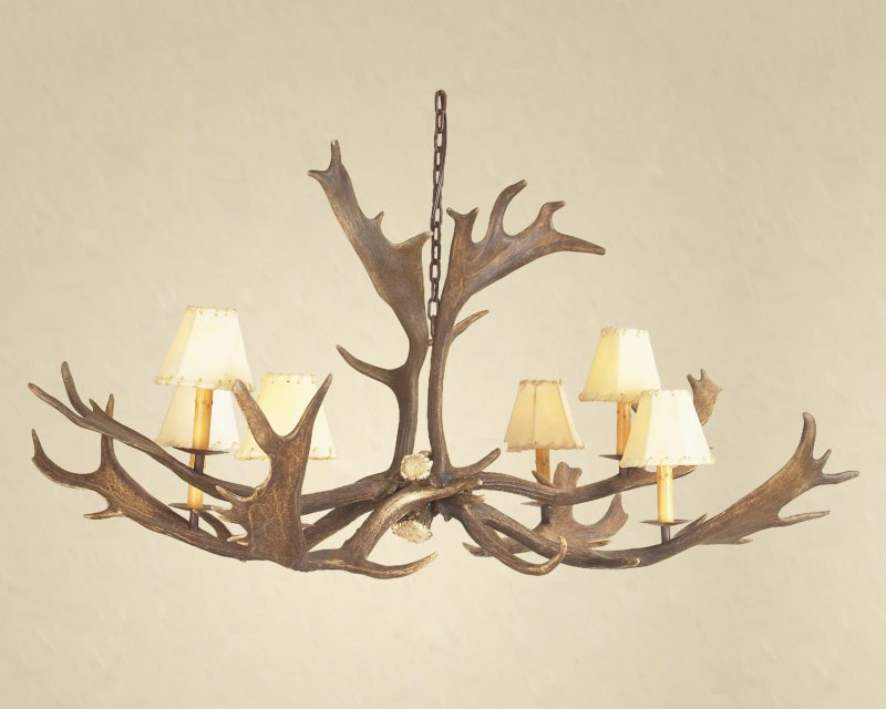 How To Measure For An Antler Chandelier