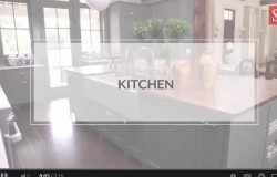 Symmetrically Balanced Kitchen