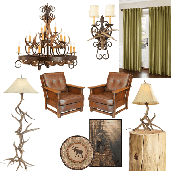rustic design: decorating with antlers