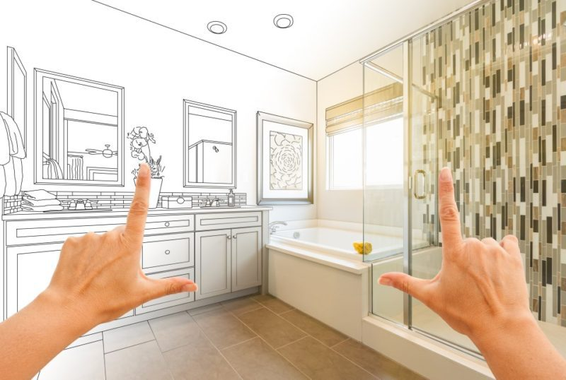 double sink vanity size