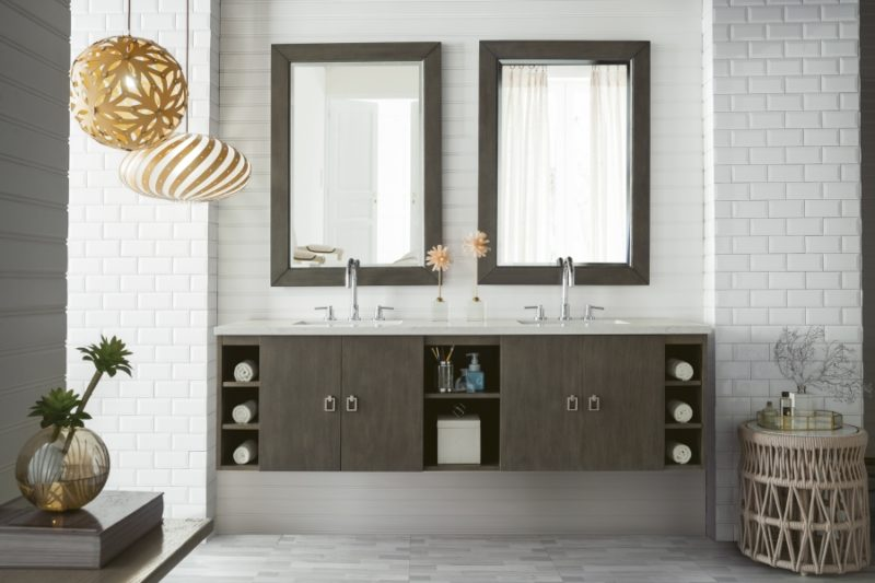 Replacing A Single With A Double Sink Vanity Unique Vanities