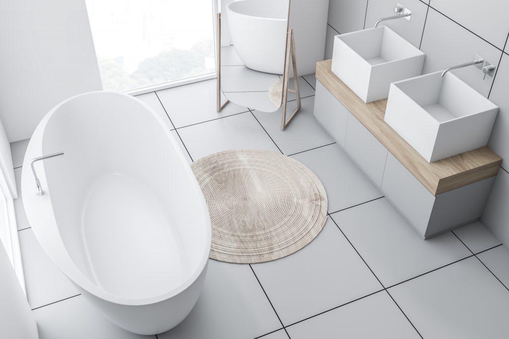 large floor tiles