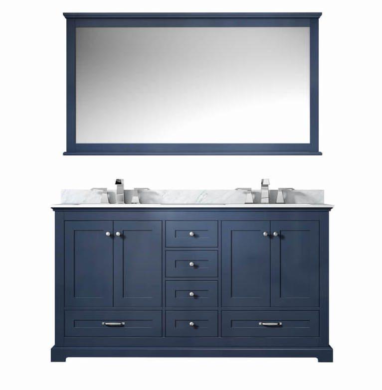 60 Inch Double Sink Bathroom Vanity by Lexora Home