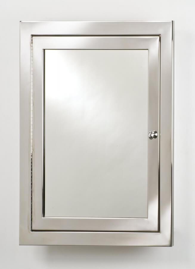 Metro Single Door Stainless Steel Medicine Cabinet