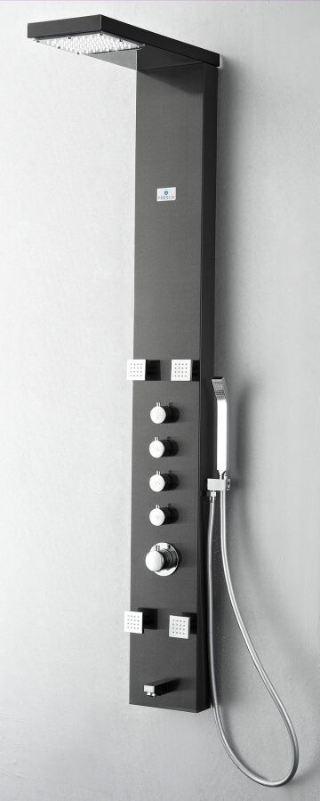 Stainless Steel Thermostatic Shower Massage Panel