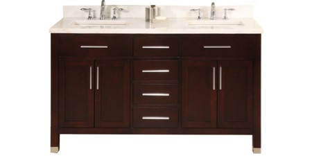 Double Bathroom Vanities Unique  Cabinets Sinks Free Shipping