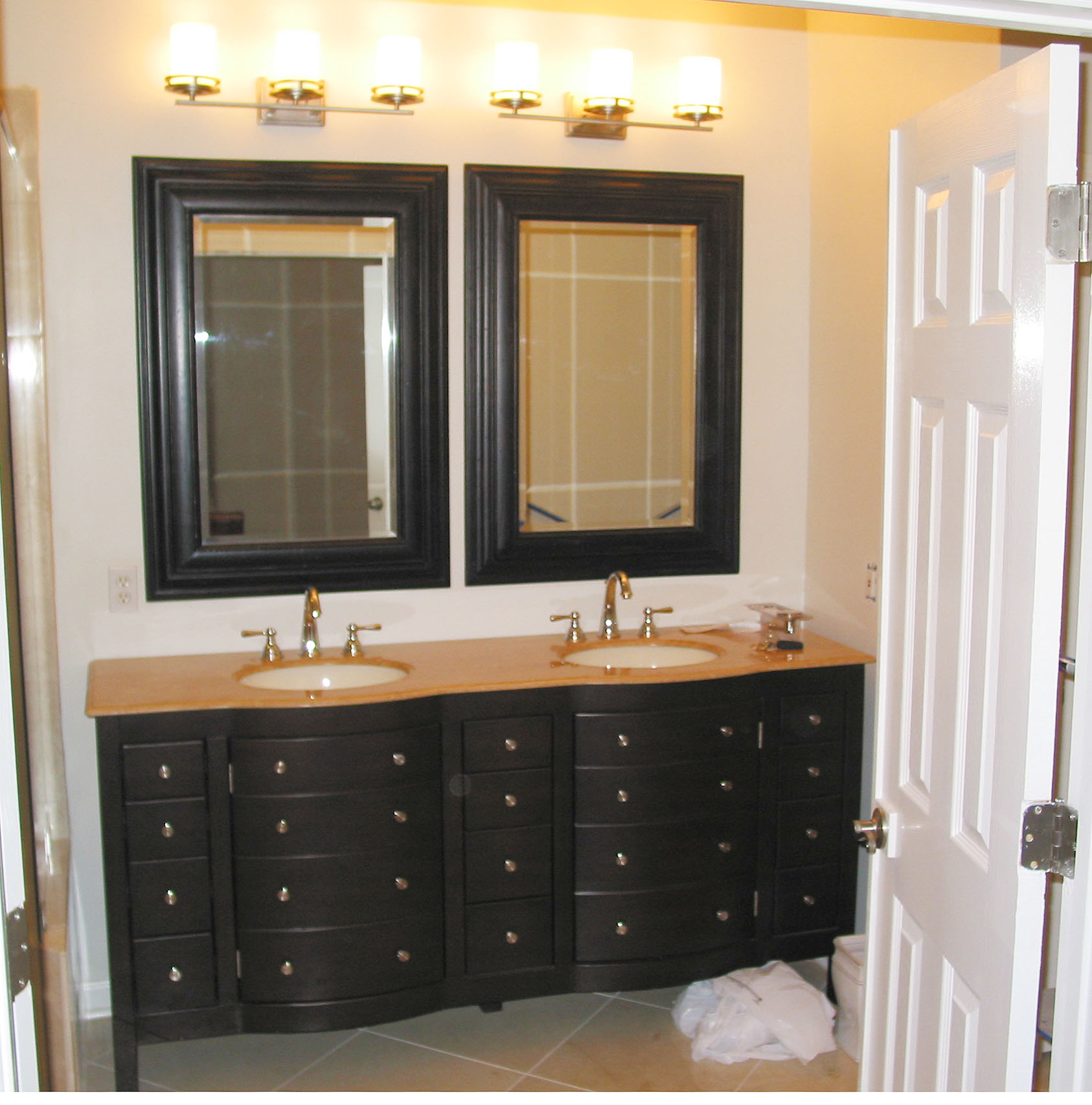 Unique Bathroom Vanity Client s