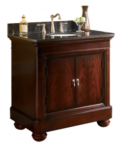 Innovative Granite Top 30 Inch Single Sink Bathroom Vanity  Overstock Shopping