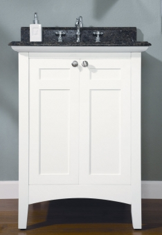 vanities without tops 24 inch single sink shaker style bathroom