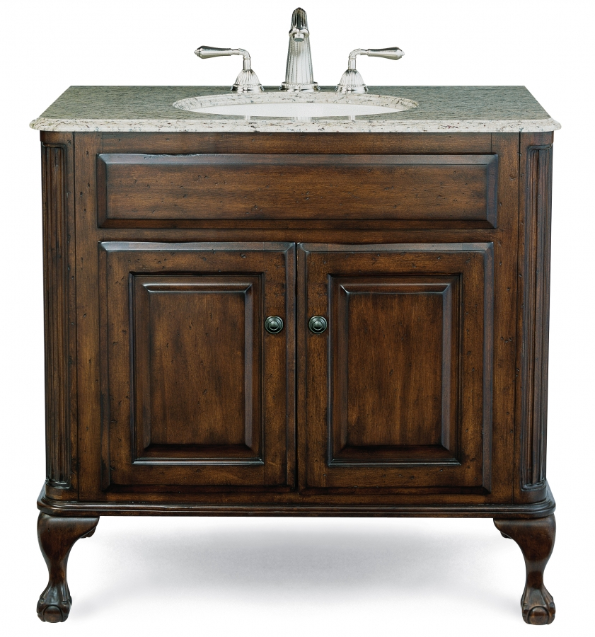 37 Inch Single Sink Bathroom Vanity With Counter Top