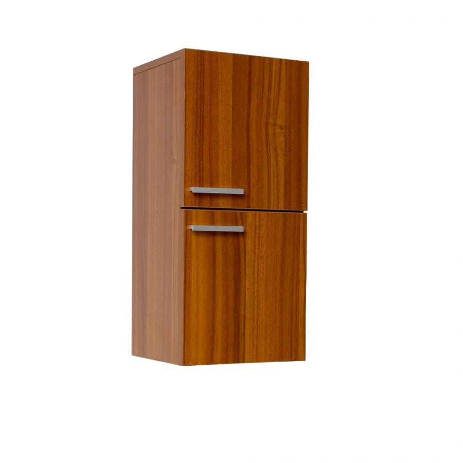teak bathroom linen side cabinet uvfst8091tk
