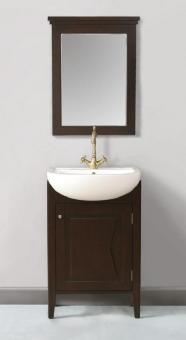 ... > Bathroom Vanities > 23 Inch Single Sink Unique Vanity with Mirror