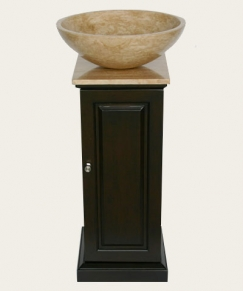 Small Vanity With Vessel Sink : Home > Contemporary Vanities > 12 Inch Small Modern Vessel Sink Vanity