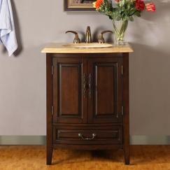 27 Inch Single Sink Vanity with Under Counter LED Lighting UVSR0726TL27
