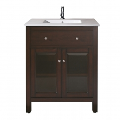 vanities 24 inch single sink bathroom vanity with choice of top