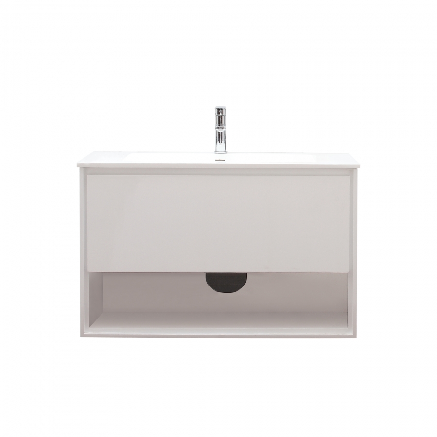 39 inch single sink bathroom vanity in glossy white uvacsonomav39wt39