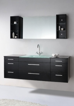 Wall Mount Bathroom Sink With Cabinet