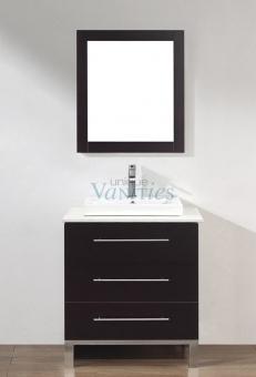 home bathroom vanities 28 inch single sink bathroom vanity in chai