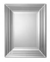 Uttermost Ikona Stair Stepped Beveled Rectangular Mirrors