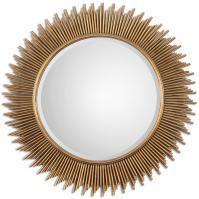 Marlo Round Gold Mirror