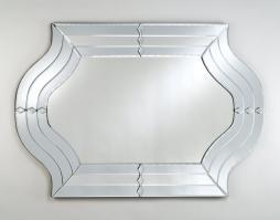 Afina Radiance Contemporary Unique Glass Mirror