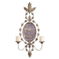 Ophelia Oval Mirror with Candle Holder
