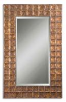 Uttermost Gavino Gold Metal Rectangular Mirror