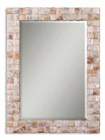 Vivian Mother of Pearl Rectangular Mirror