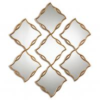 Terlizzi Gold Unique Mirrors Set of 3