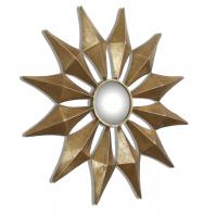Navia Gold Starburst Mirror